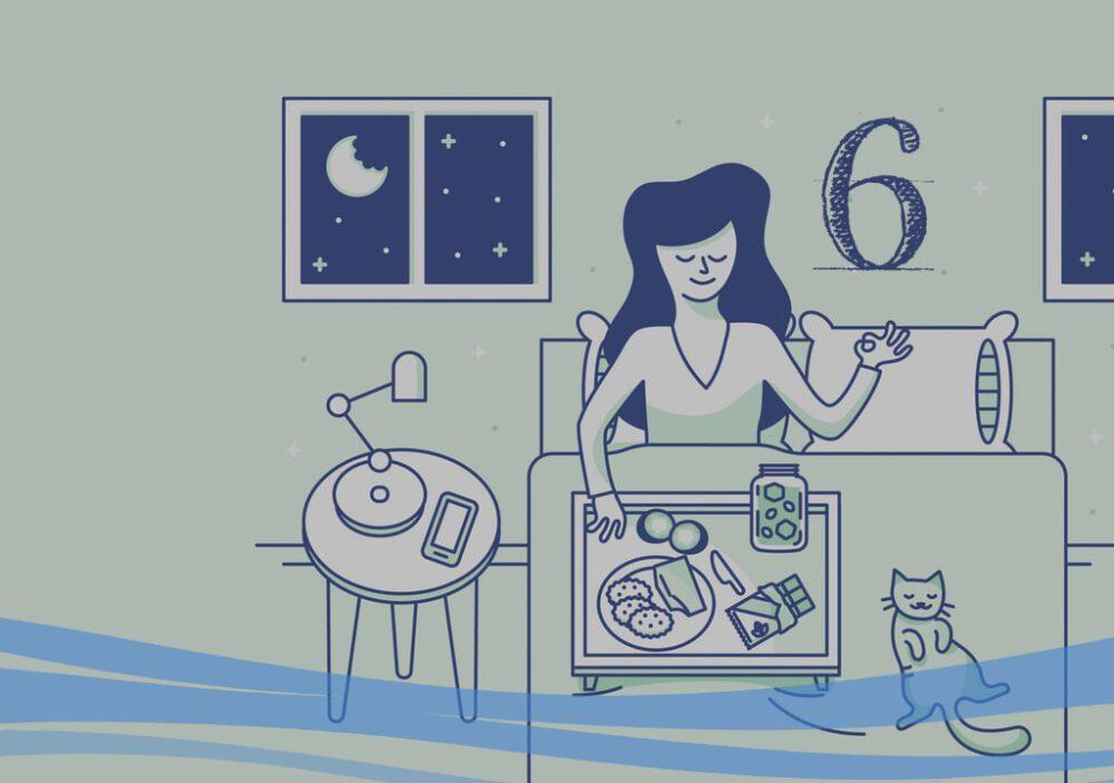 6 ماده خوراکی برای بهبود خواب